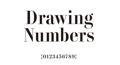 Drawing Numbers Logo